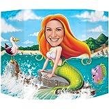 Beistle 54800 Mermaid Photo Prop, 3-Feet 1-Inch by 25-Inch