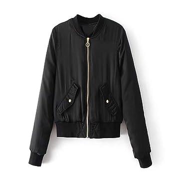 JJHR Chaqueta jacket Parka Corta Mujeres Abrigo De Invierno Chaqueta De Piloto Mujeres Caliente Parka Fina Mujer Otoño Abrigos Chaquetas De Mujer Mujer De ...