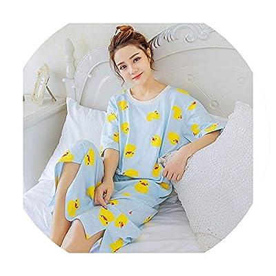 Winter Artifact Pajamas Women's Nightdress Cute Loose Long Section Home Clothes