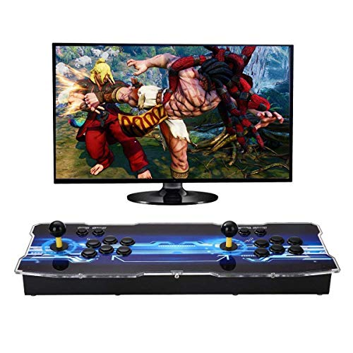 SeeKool 3D Pandora X Arcade Game Console, 1920x1080 Full HD 4 Players Max Arcade Machine 2200 Retro Games, Support Extended TF Card& USB Disk to Enjoy More Games PC / Laptop / TV / PS4 (KOF) by SeeKool (Image #7)