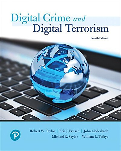 Cyber Crime and Cyber Terrorism (4th Edition) (What's New in Criminal Justice) by Pearson
