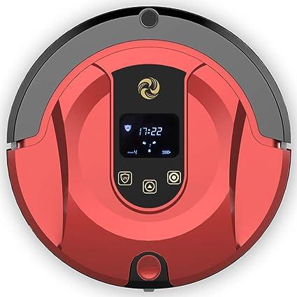 MIAO@LONG Robot Aspirador Inteligente Alta Succión Smart Mopping Con Autocargador Y Detección De Gotas