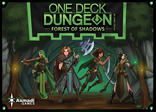 Asmadi Games One Deck Dungeon: Forest of Shadows Board (Mechanic Deck)