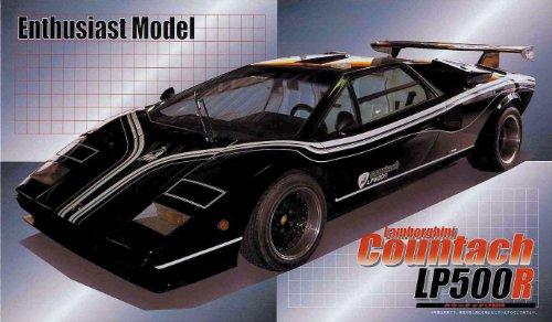 フジミ模型 1/24 エンスージアストモデルシリーズ No.18 ランボルギーニ カウンタック LP500Rの商品画像