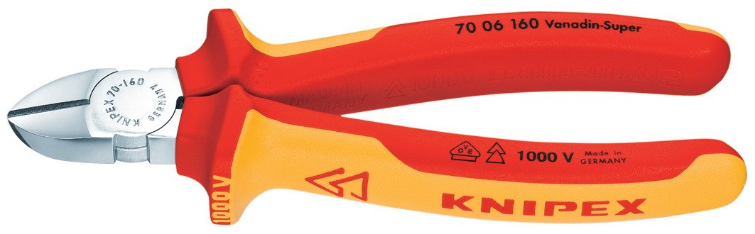 Alicates De Corte Diagonal Knipex 70 06 160 SB