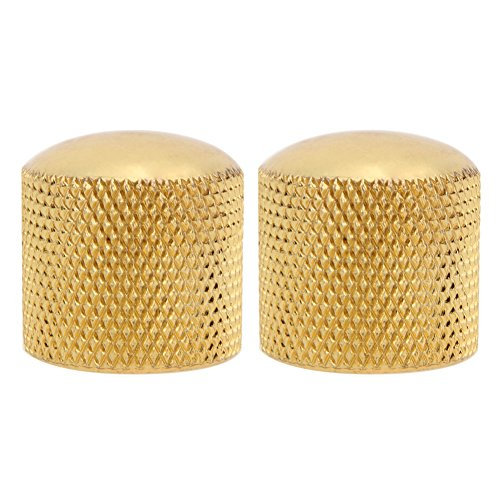 Speed Guitar Control Knobs Set of 4 Gold - 5