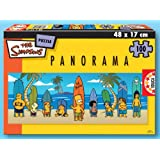 Educa Borras 13482 Puzzle 200 Panorama Simpsons
