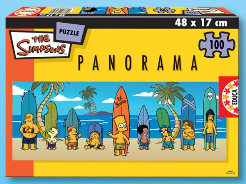 Educa Borras 13482 Puzzle 200 Panorama Simpsonshttps://amzn.to/2MZnB3X
