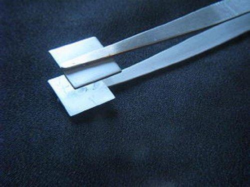 Devardi Glass~ Flat Masher Tweezers For Lampworking, Bead