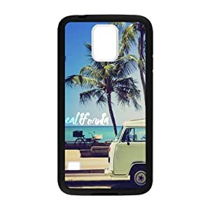 Canting_Good Palm Trees and California Dreaming Custom Case skin for Samsung Galaxy S5 (Laser Technology)