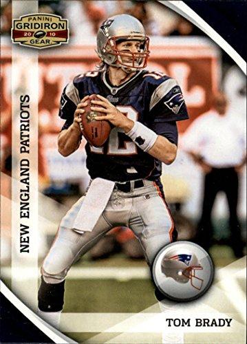 2010 Panini Gridiron Gear #88 Tom Brady - New England Patriots