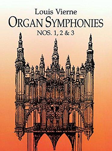 Organ Symphonies Nos. 1, 2 & 3 (Dover Music for Organ)