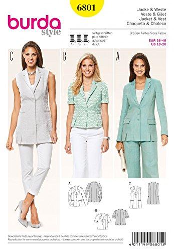 ladies suit jacket pattern