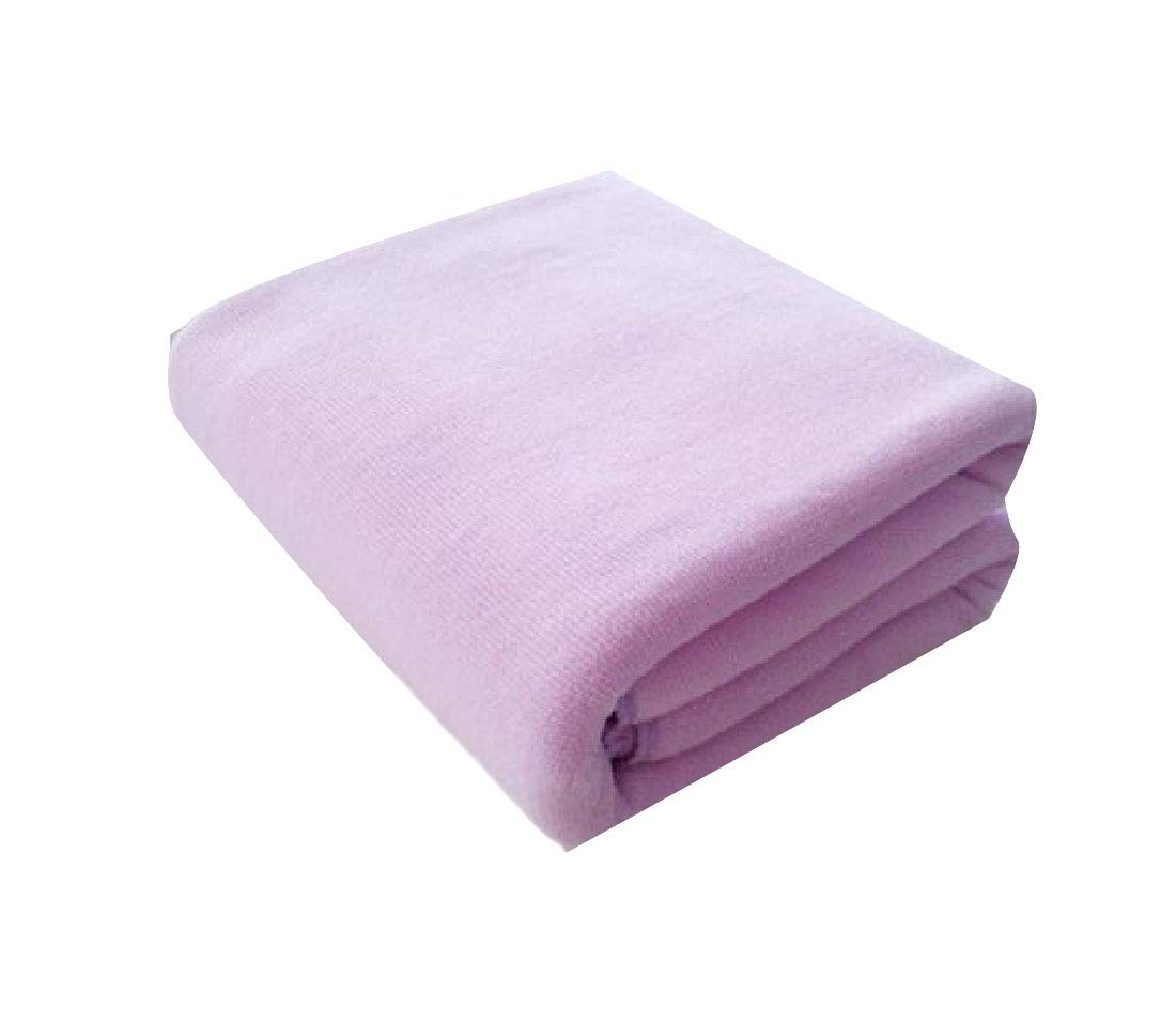 Zimaes Machine Washable Luxuriously Luxury for Maximum Softness and Absorbency Microfiber for Household Bathrooms Multipurpose Fast Drying Available in More Colors Bath Sheet Light Purple 70140