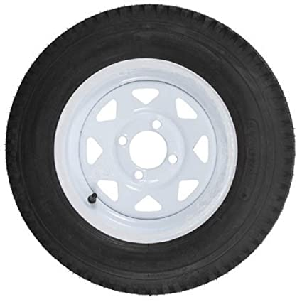 Amazon Com Ecustomrim Trailer Tire On Rim 4 80 12 480 12 4 80 X 12