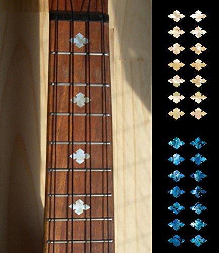 Ukulele-Fretboard Markers Inlay Sticker - Slotted Diamond SET