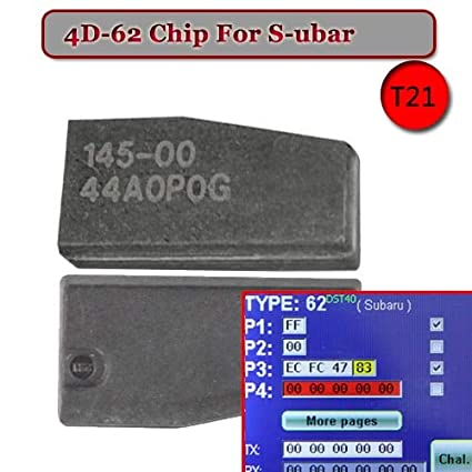 Amazon com: ID 4D-62 (T21) Transponder Chip for Subar: Home
