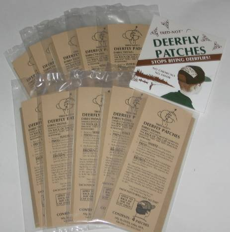 TredNot 40 / PK Deerfly Patches Deer Fly Strips