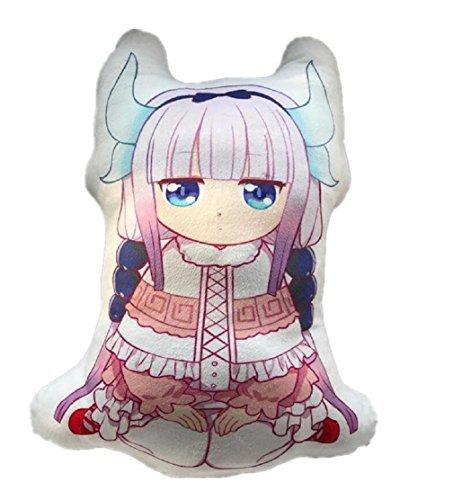 YOYOSHome Anime Miss Kobayashi's Dragon Maid Cosplay Pillow Cushion Plush Doll Toy (50 cm)
