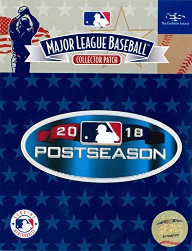 2018 MLB Major League Baseball Official Postseason EmbossTech Collectors Patch