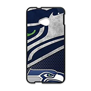 Seattle Seahawks Fashion Comstom Plastic case cover For HTC One M7
