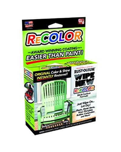 Recolor Wipe New Clear Coating & Sealant As Seen On Tv Recolor Top Notch