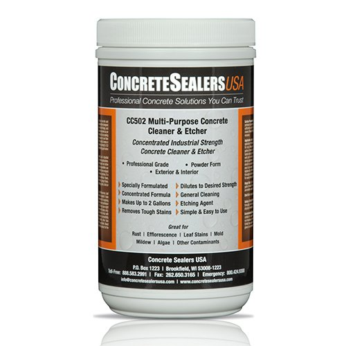 CC502 Multi-Purpose Concrete Cleaner & Etcher (32 oz.)