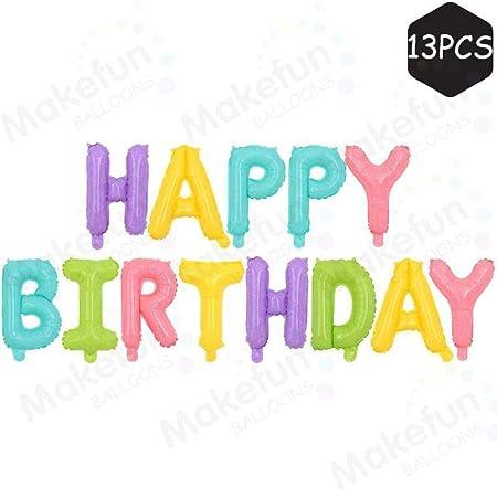 Conjunto de globos ambiente de cóctel feliz cumpleaños ...