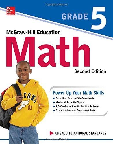 McGraw-Hill Education Math Grade 5, Second Edition - Math 5 Tests