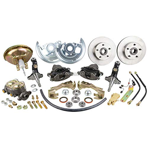 Disc Brake Conversion Kit For Chevy Chevelle Camaro Nova Monte Carlo El Camino Pontiac Firebird Tempest GTO Buick Olds - BuyAutoParts 71-20002N New