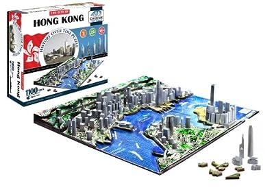 4d Cityscape Hong Kong Time Puzzle by 4D Cityscape
