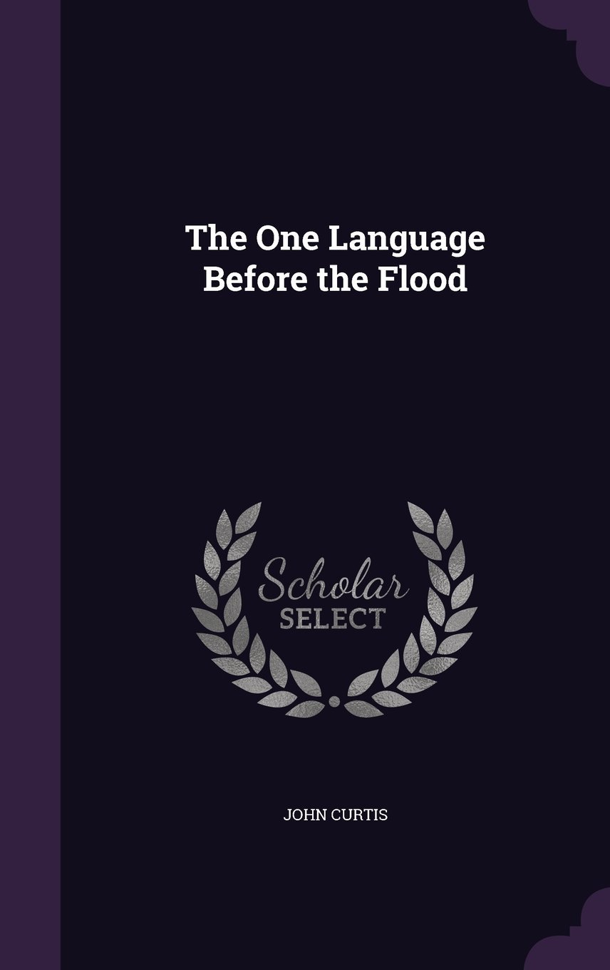 Read Online The One Language Before the Flood PDF