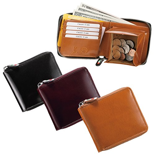 476f6d65170d Amazon | 財布 二つ折り メンズ 革 小銭入れ付き オリーチェラウンドファスナー二つ折りウォレット 69474(ブラック) | ORICE |  財布