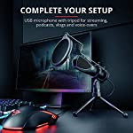Trust Gaming GXT 232 Mantis Streaming Gaming Microphone for PC, PS4 and PS5, USB Connected, Including Shock Mount, Pop…