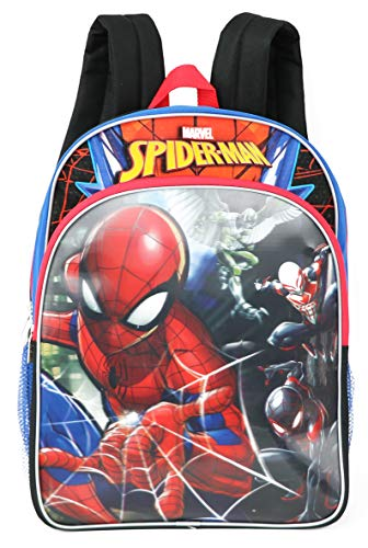 Marvel Spiderman Light Up Backpack (Spider-Man) ... (Grey, Multi-grey)