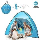 Sunba Youth Beach Tent, Pop Up Tent, Baby Beach Sun Shade, UV Protection Sun Shelter