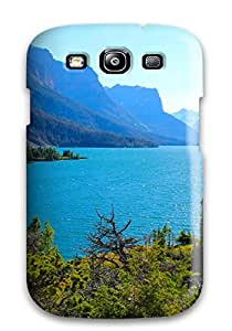 Hot 5710519K29544950 TashaEliseSawyer Scratch-free Phone Case For Galaxy S3- Retail Packaging - Saint Mary Lake