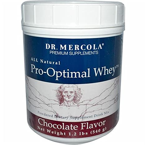 Amazon.com: Dr. Mercola pro-optimal Suero Chocolate – todo ...