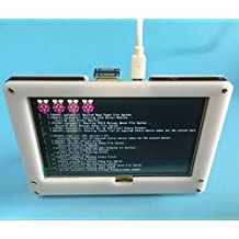 5 inch 800x480 Resistive Touch Screen LCD Display HDMI For Raspberry Pi 2 3 + Frame