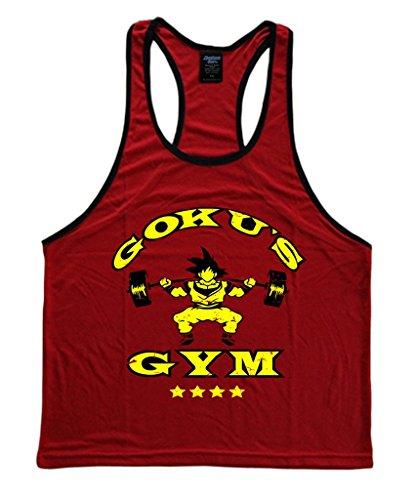 8115ec7fba117 Goku s Gym Dragon Ball Z Men s Stringer Tank Top - Buy Online in UAE ...