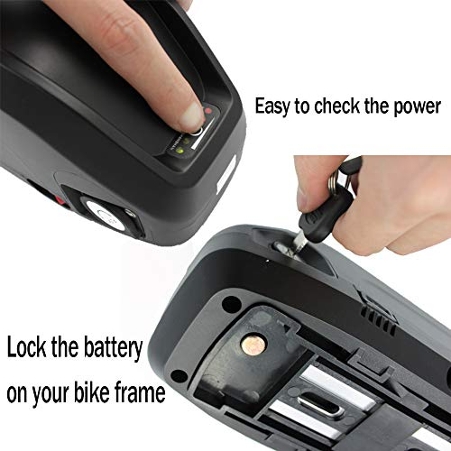 Pedal Faster Electric Bike Battery 48V 13Ah 16Ah LG Cell Lithium ion Battery with USB Port, Ebike Battery for 1000W 1500W Ebike Motor