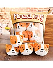 LETAMG Cute Snack Pillow Stuffed Animal Toy Decoration Removable Kitten Doll Creative Toy Gift for Teenage Girls