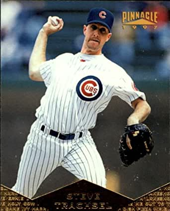 1997 Pinnacle #132 Steve Trachsel at Amazon's Sports Collectibles