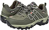 LARNMERN Work Shoes for Men, LM-18 Men's Steel Toe Safety Shoes Breathable Comfortable Footwear Industrial and Construction Boots (11 D(M) US, Army Green)