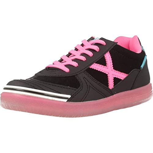 Zapatillas para niña, Color Negro, Marca MUNICH, Modelo Zapatillas para Niña MUNICH G 3 Kid Negro: Amazon.es: Zapatos y complementos