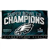Philadelphia Eagles Super Bowl LII 52 Champions Banner Flag - 3' X 5'
