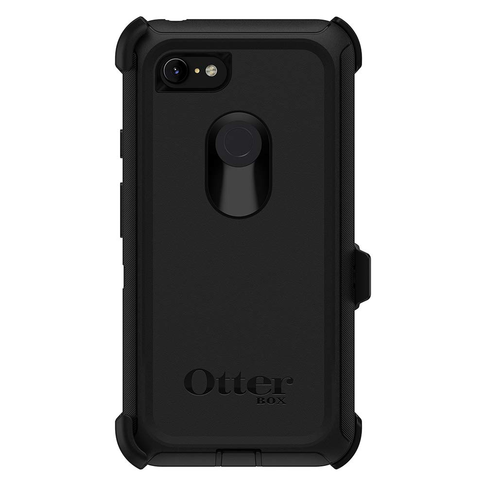 OtterBox Defender Series SCREENLESS Edition Case for Google Pixel 3 XL - Retail Packaging - Black by OtterBox (Image #2)