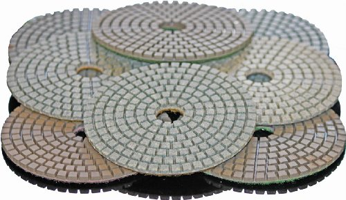 Stadea PPW220B Granite Polishing Pads Kit 5