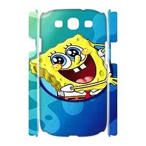 Printed Phone Case SpongeBob Squarepants For Samsung Galaxy S3 I9300 LJ2S32377