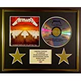 METALLICA/CD DISPLAY/LIMITED EDITION/MASTER OF PUPPETS